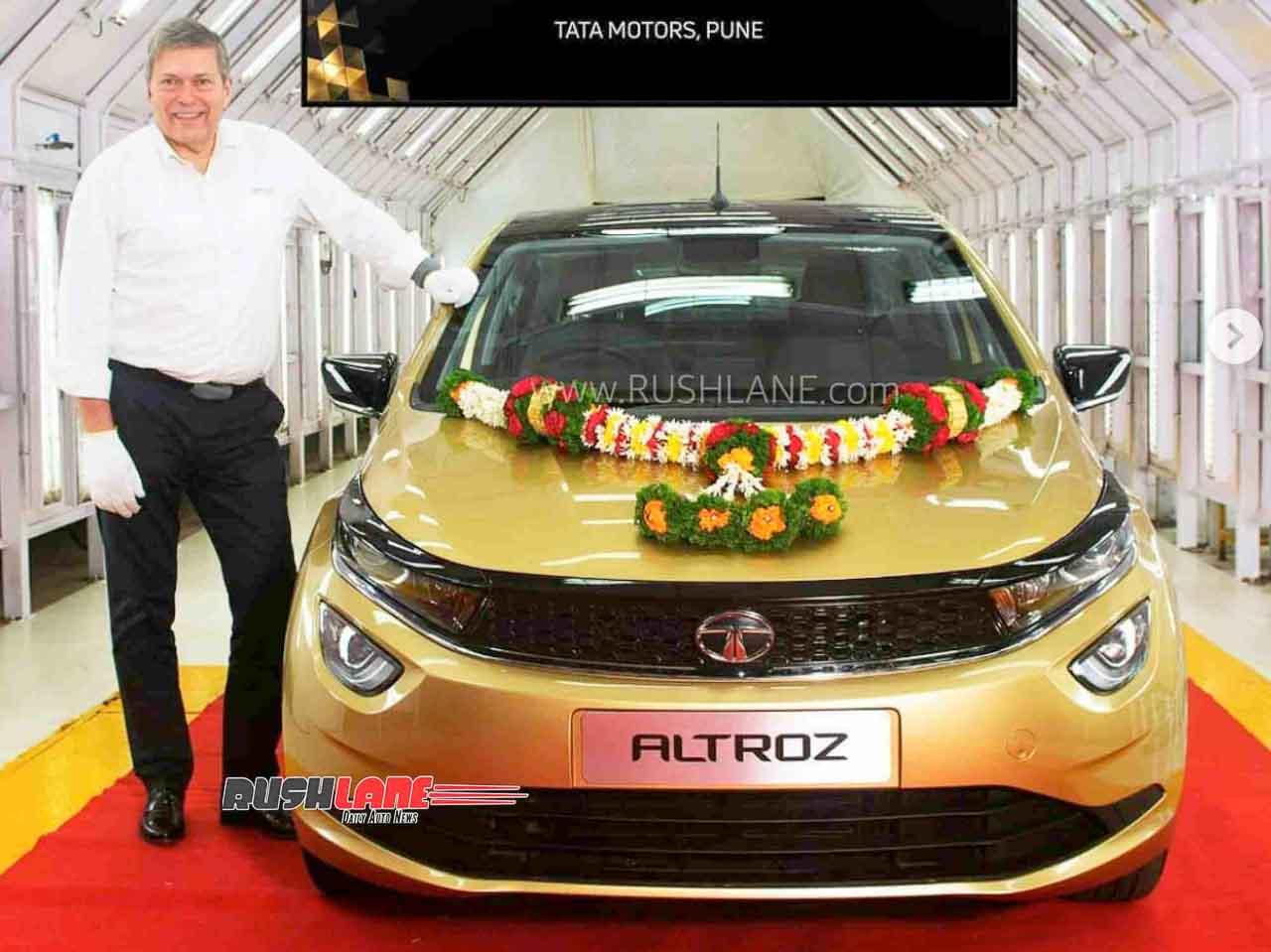 Tata Altroz Production 25000