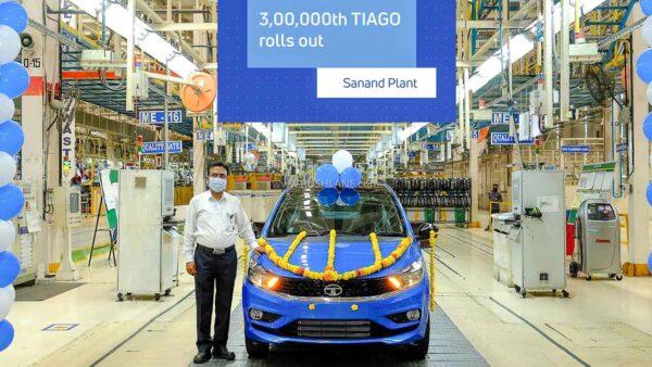 Tata Tiago Production 3 lakh