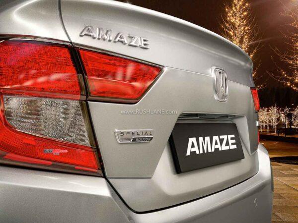 2020 Honda Amaze Special Edition
