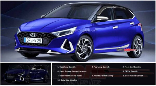 2020 Hyundai i20 Accessories
