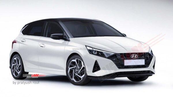 2020 Hyundai i20 White Black Dual Tone
