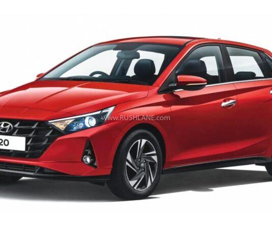 2020 Hyundai i20 India Spec