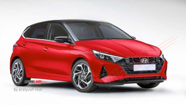 2020 Hyundai i20 Red Black Dual Tone