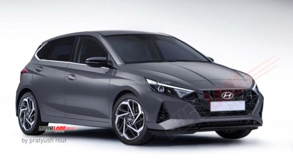 2020 Hyundai i20 Titan Grey