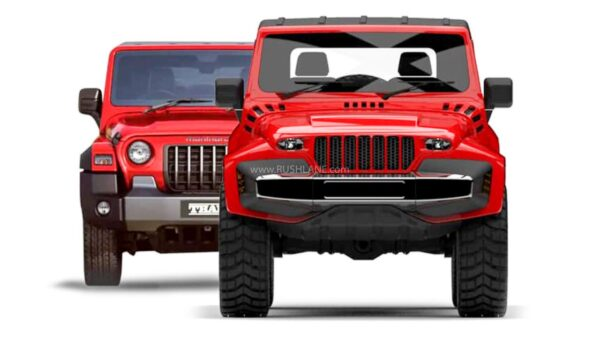 2020 Mahindra Thar by DC Design