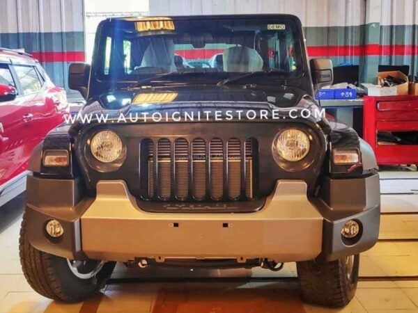 New Mahindra Thar Modified Grille