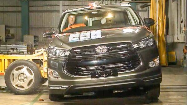 2020 Toyota Innova Crash Test