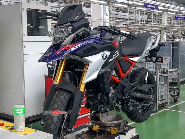 2021 BMW G310GS Production Starts