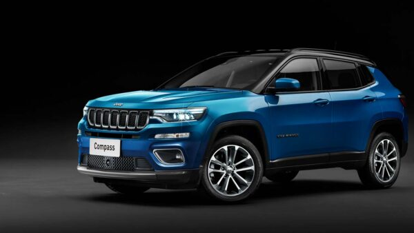 2021 Jeep Compass Facelift Render