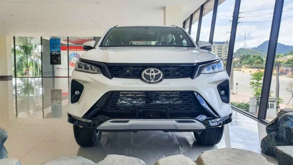 2021 Toyota Fortuner Crash Test