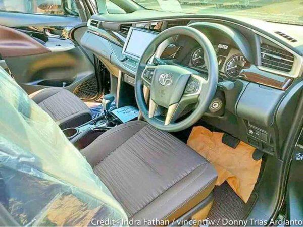 2021 Toyota Innova Facelift Interiors