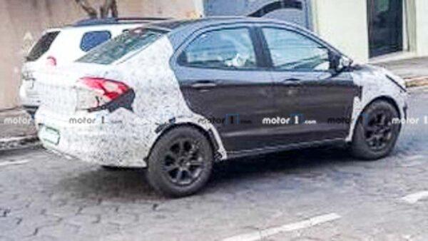 2022 Ford EcoSport testing