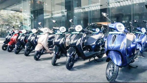 Bajaj Chetak deliveries