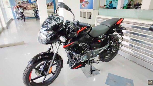 New Bajaj Pulsar 125 Split Seat