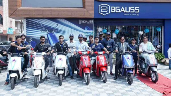 BGauss electric scooter delivery starts