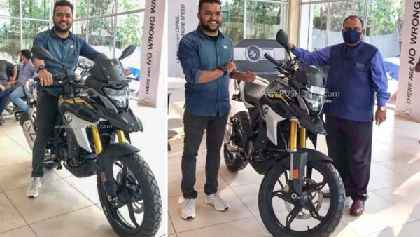 BS6 BMW G310 GS Delivery Starts First Owner