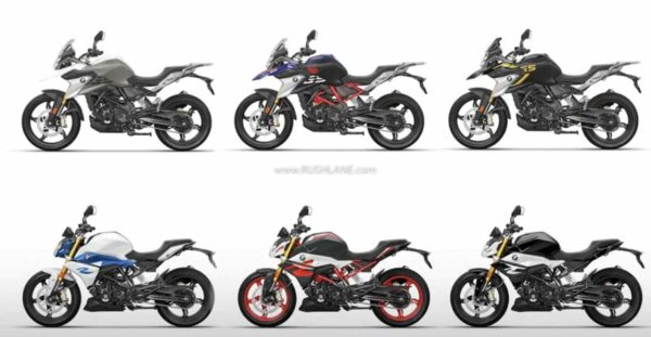 2020 BMW G310R and G310GS Colours