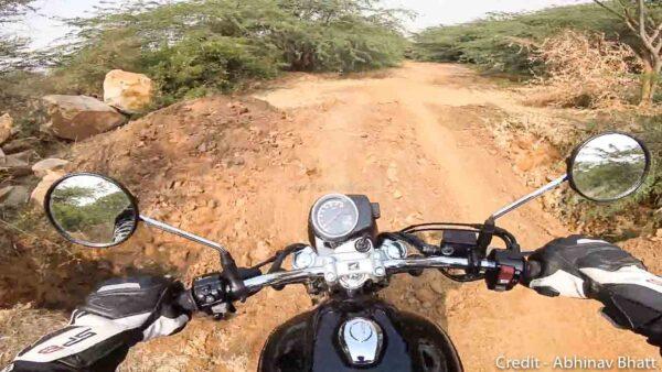 Honda CB350 Off-Road Review