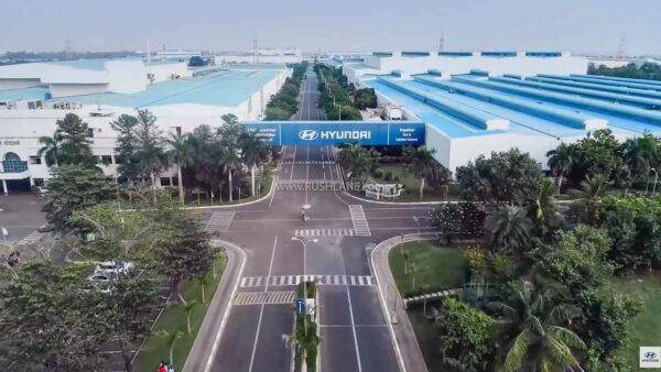Hyundai India Plant