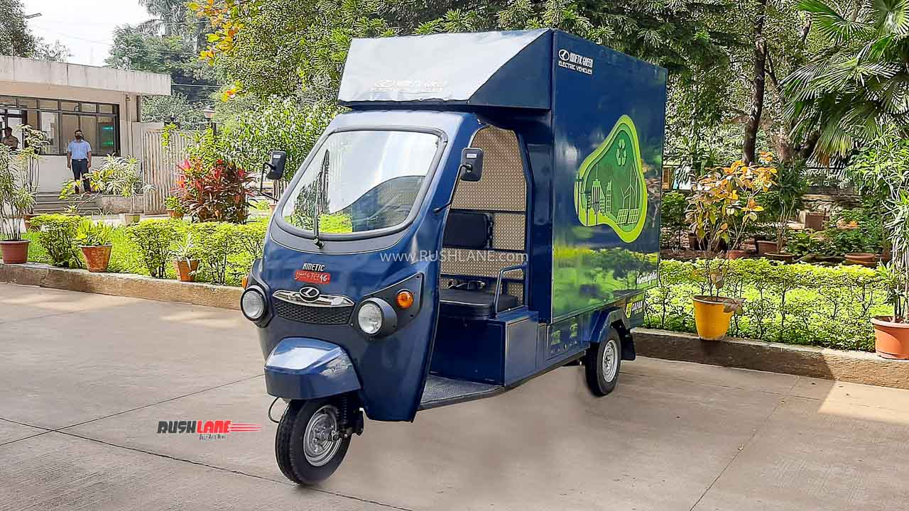 Kinetic Safar Jumbo Is India's First 1 Ton Electric Cargo 3 Wheeler - Launched - RushLane