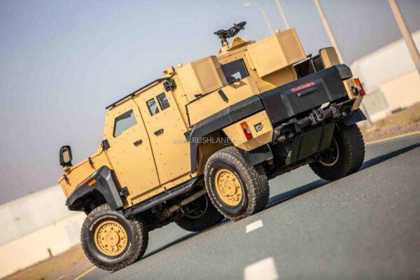 Mahindra Armored LSV