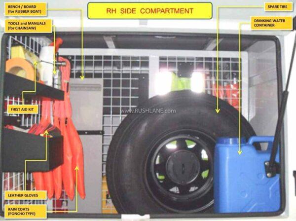 Mahindra Bolero Rescue Unit