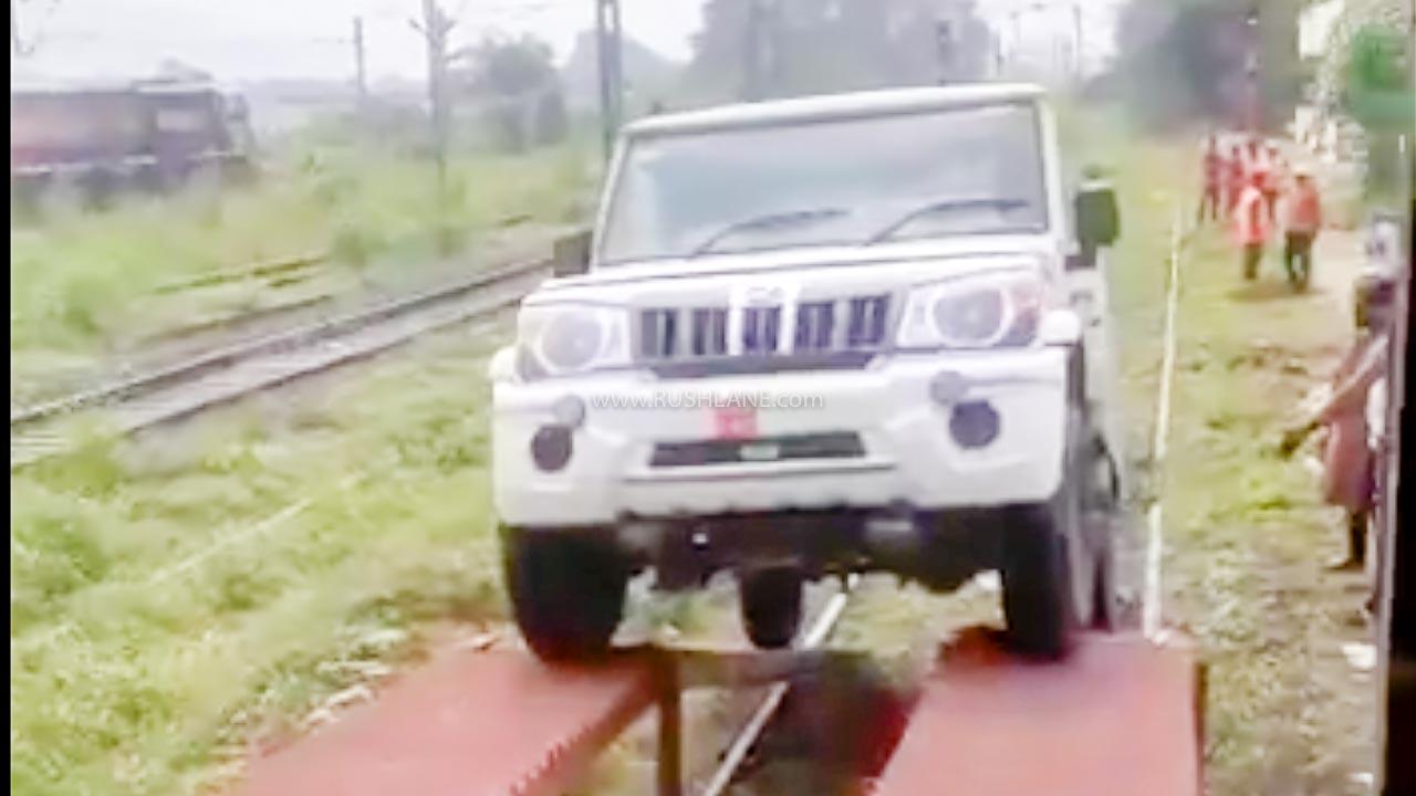 Mahindra Bolero Export To Bangladesh Via Indian Railways - First Batch - RushLane