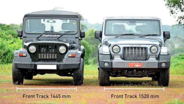 Mahindra Thar Old vs New