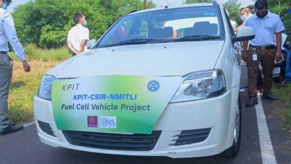 Mahindra Verito Hydrogen powered car