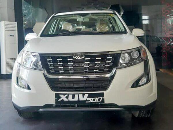 Mahindra XUV500 Discounts Oct 2020