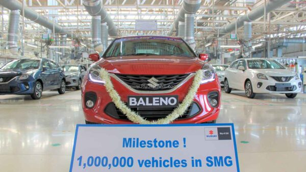 Suzuki Gujarat Plant Production Milestone