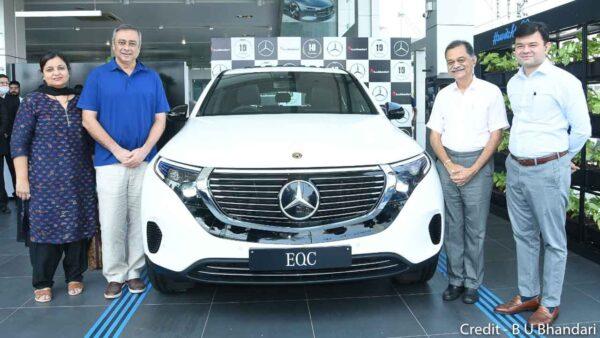 Mercedes India Sales EQC Electric