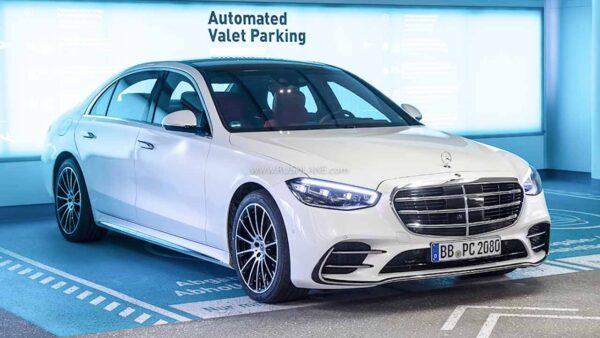 2021 Mercedes S Class Automatic Parking
