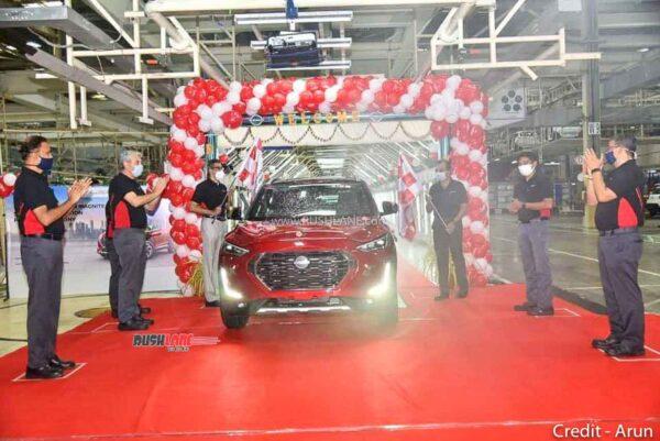 Nissan Magnite Production Starts