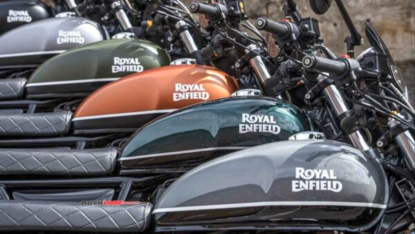 Royal Enfield 650 Twins New Colours