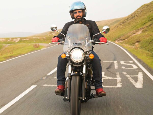 Siddhartha Lal with Royal Enfield Meteor 350