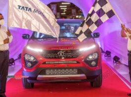 Tata Harrier Production Milestone