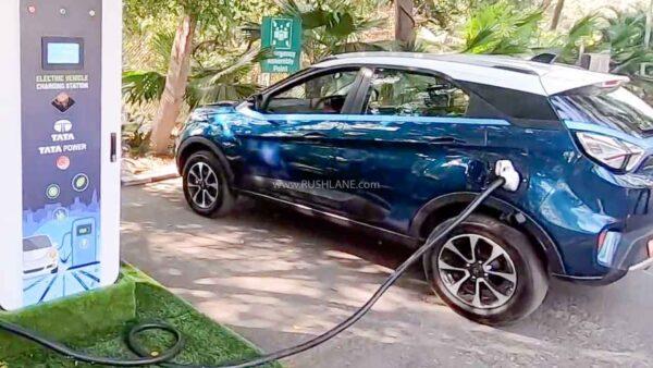 Tata Nexon EV Fast Charging