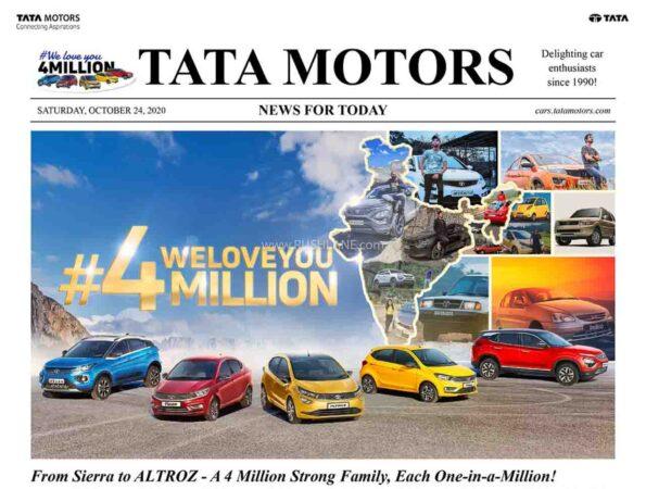 Tata Motors Records 4 Million Production Milestone