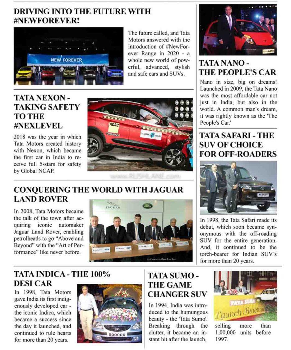 Tata Motors Journey To 4 Million - Highlights