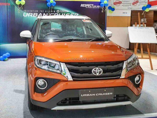 New Toyota Urban Cruiser