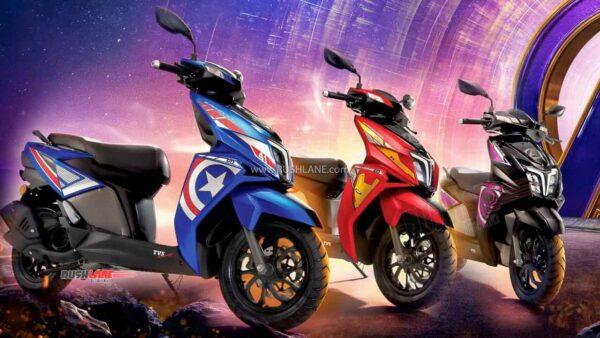 TVS Ntorq Avengers Edition