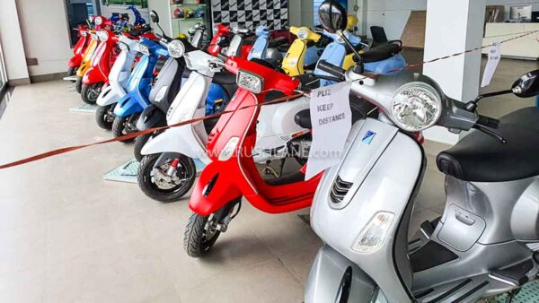 Vespa scooter discounts
