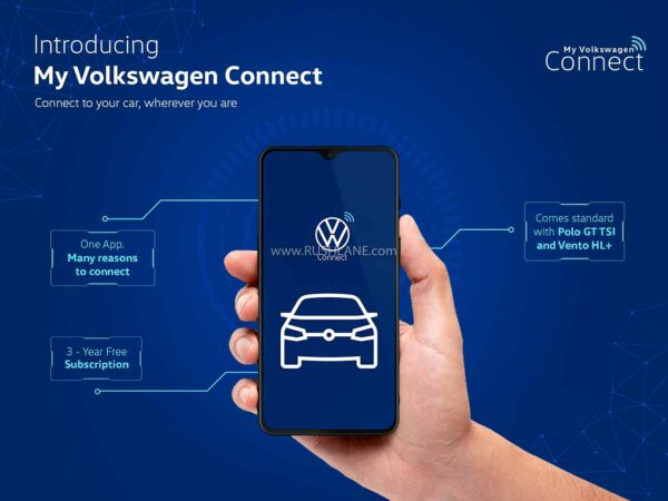 Volkswagen India Connect App