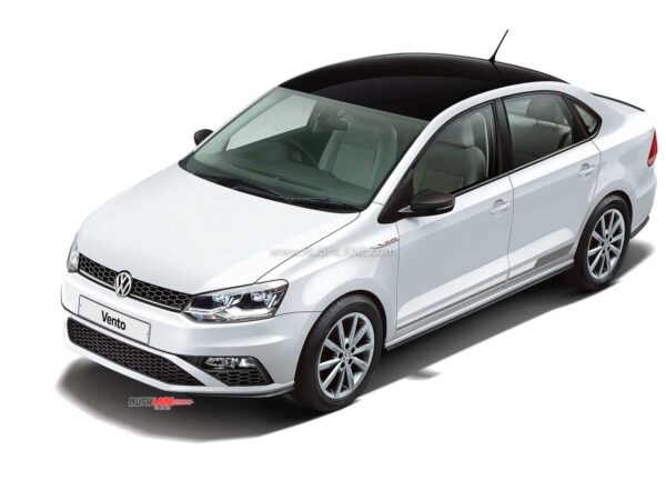 Volkswagen Vento Red & White Edition