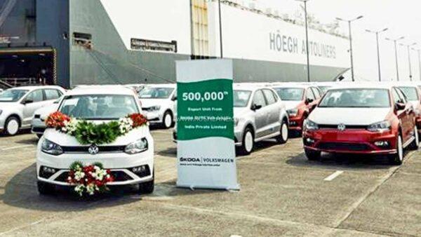 Volkswagen Vento Exports India