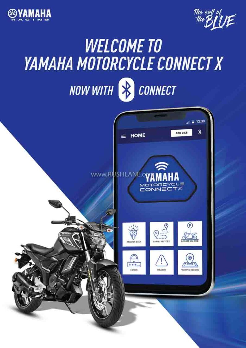 Yamaha FZS FI Bluetooth