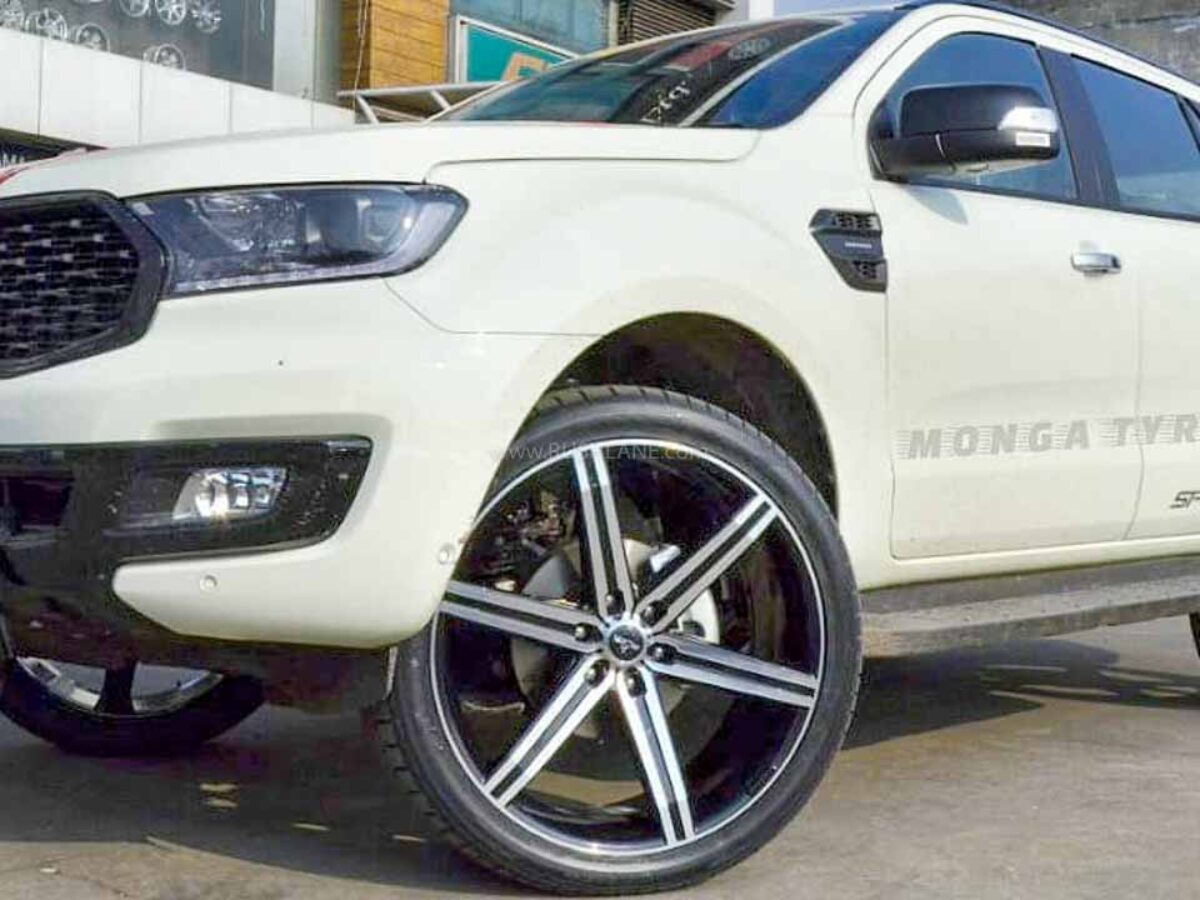 New Ford Endeavour Sport Modified With Massive 24 Inch Alloys