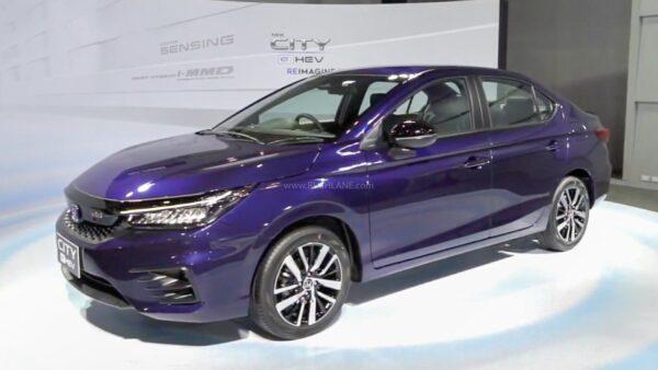 2021 Honda City eHEV