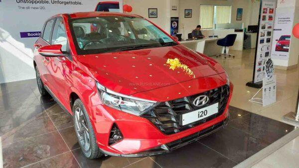 Hyundai i20 Bookings Record